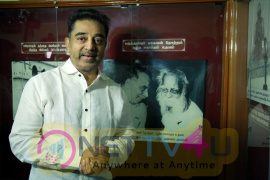 Kamal Haasan Visited The Periyar House In Erode Stills Tamil Gallery