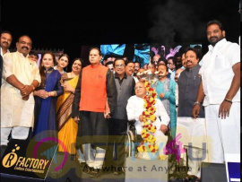 Padma Shri Brahmanandam Awarded The Title 'comedy Brahma' Event Images