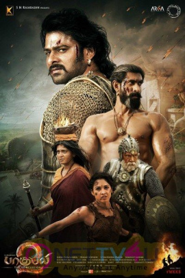 Baahubali 2 Movie Stunning Posters  Telugu Gallery