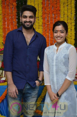 NagaSourya New Movie Opening Matter&Stills Telugu Gallery