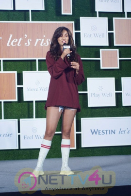 Disha Patani Unveils Newest Well-Being At Westin Hotel And Resort Hindi Gallery