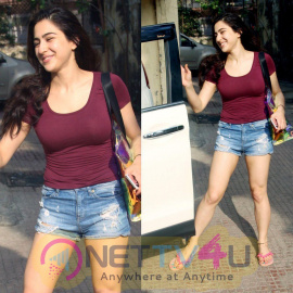 Actress Sara Ali Khan Lovely Images