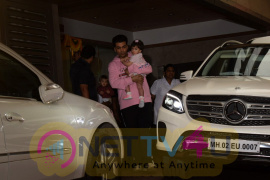 Tushar Kapoor Son Birthday Party At His Home Beautiful Pics