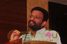 Kadaikutty Singam Promotion In Kerala Movie Stills