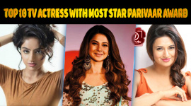 Top 10 TV Actress With Most Star Parivaar Award