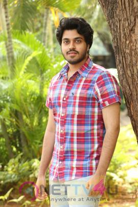 Gulf Movie Hero Chetan Maddineni Interview Photos Telugu Gallery