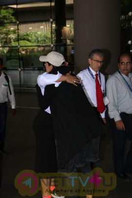 Nargis Fakhri Spotted At Airport Photos