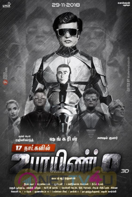 2.0 Movie First Look Attractive Posters Tamil Gallery