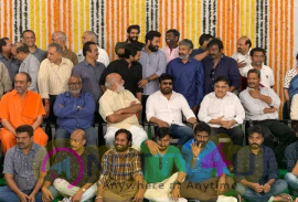 Rajamouli's Next Telugu Movie Launch Pics
