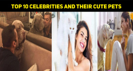 Top 10 Celebrities And Their Cute Pets