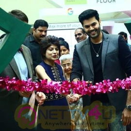 Actor Ganesh Venkatram Inaugurated The Beautiful Christmas Magical Forest Pics