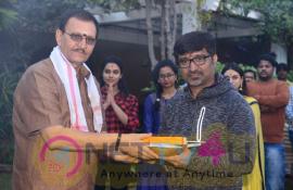 Sudheer Babu & Indraganti New Movie Pooja Photos