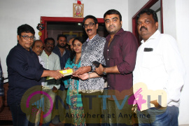 Utharavu Maharaja Dubbing Pooja Pics Tamil Gallery