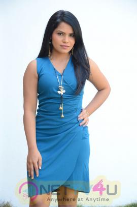 Actress Kulakarni Mamatha Cute Pics At Idea Movie Creations Movie Opening Telugu Gallery