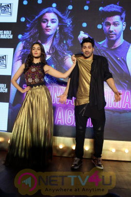 Song Launch Tamma Tamma Again For Film Badrinath Ki Dulhania With Varun Dhawan & Alia Bhatt Stills Hindi Gallery