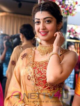 Actress Pranitha Subhash angelic Images Telugu Gallery