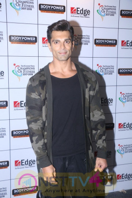 Karan Singh Grover At The Body Power 2018 Exhibition Stills