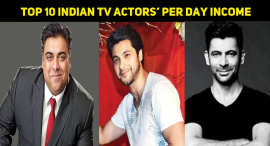 Top 10 Indian TV Actors' Per Day Income