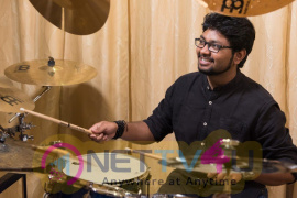 Drummer Siddharth Nagarajan Excellent Photos Tamil Gallery