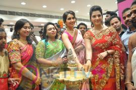 Actress Raashi Khanna & Mehrene Kaur Pirzada Launches KLM Fashion Mall At Nellore Stills  Telugu Gallery