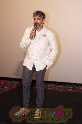 S.S Rajamouli At IMAX Madia Day Grand Pics