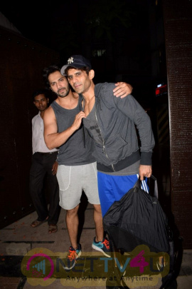 Varun Dhawan Spotted At Juhu Best Images