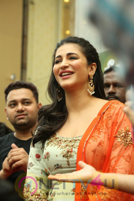 Actress Shruti Haasan Launches Nerru's The First Flagship Family Store In Chennai Stills