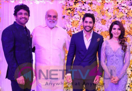 Naga Chaitanya And Samantha Reception Photos Tamil Gallery