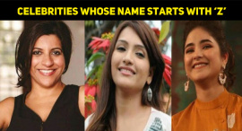 Top 15 Successful Bollywood Celebrities Whose Name Starts With 'Z'