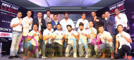 Ajay Devgn & Others And Corporate Head Honchos Partner With Super Fight League For Inaugural Season Recent Stills