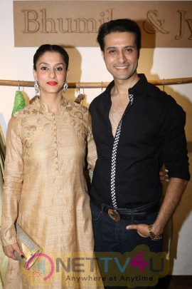 Designer Bhumika & Jyoti At Launch New Collection On Valentines Day With Deepshikha Nagpal