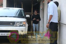 Aahan Shetty Spotted At Bandra