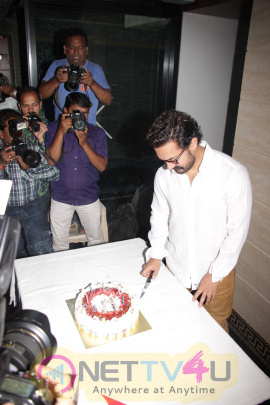 Aamir Khan Birth Day Party Celebration Lovely Photos