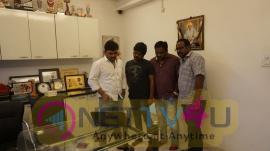 Director Maruthi Launches Lanka Movie Teaser Stills