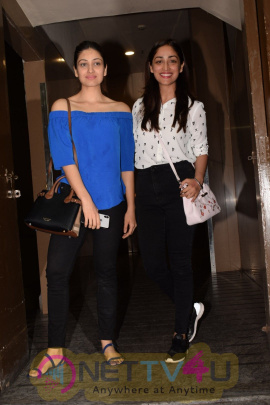 Ishita Dutta ,Vatsal Sheth & Yami Gautam Spotted At Pvr Juhu Images Hindi Gallery