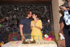 Aamir Khan Birthday Celebration At His Mumbai Residence Stills