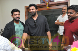 Young Rebel Star Prabhas Launched Crime 23 Movie Teaser Pics