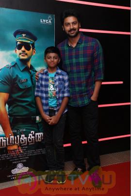Irumbu Thirai Movie Special Celebrity Show Pics