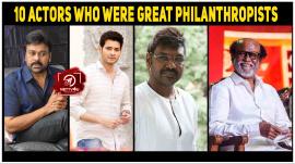 10 Actors Who Were Great Philanthropists