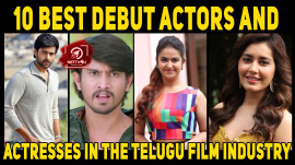 10 Best Debut Actors And Actresses In The Telugu Film Industry