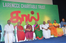 Actor Raghava Lawrence Mothers Day Special Thaai Album Song Launch Event Images