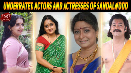 Most Underrated Actors And Actresses Of Sandalwood