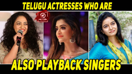 Telugu Actresses Who Are Also Playback Singers