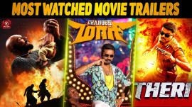 Top 10 Most Watched Tamil Movie Trailers