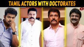Top 10 Tamil Actors With Doctorates
