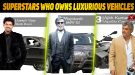 Top 10 Tamil Superstars Who Owns Luxurious Cars
