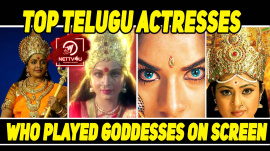 Top Telugu Actresses Who Played Goddesses On Screen
