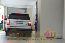 Kareena And Karishma Kapoor At Thier Mother's House In Bandra Images