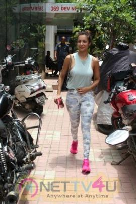 Malaika Arora Came To Gym Pics  Hindi Gallery