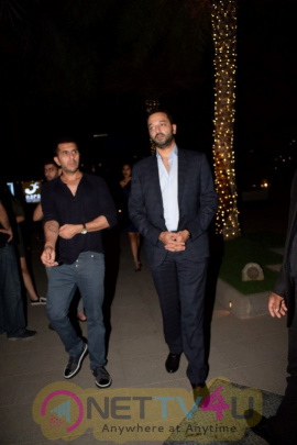 Ritesh Sidhwani With His Wife, Anu Dewan & Sunny Dewan Spotted At Yautcha Restaurant In Mumbai